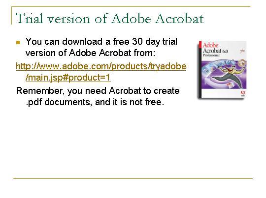 adobe acrobat 9 pro free download